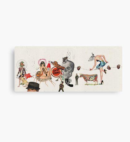 LAS BELLAS HERIDAS (Beautiful wounds) Canvas Print