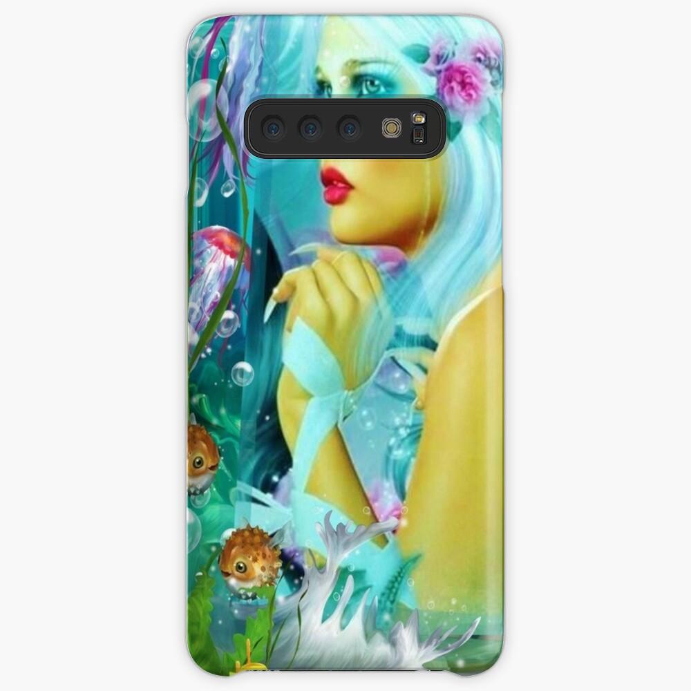 Mermaid Princess Samsung Galaxy Snap Case