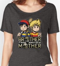 Another MOTHER - Ness & Lucas Women's Relaxed Fit T-Shirt