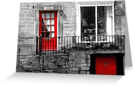 Derbyshire Doors by Caroline  Oldham