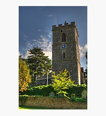 St Mary's Church Hayes Middlesex Photographic Print