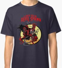 The Mouth Mercing Devil-Spawn Classic T-Shirt