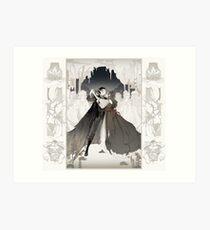 queen of mirth Art Print