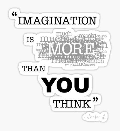 """IMAGINATION"" Sticker"