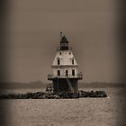Southwest Ledge Light by Carrie Blackwood