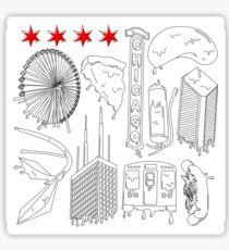 Drippy City Sticker