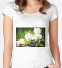 spa Women's Fitted Scoop T-Shirt