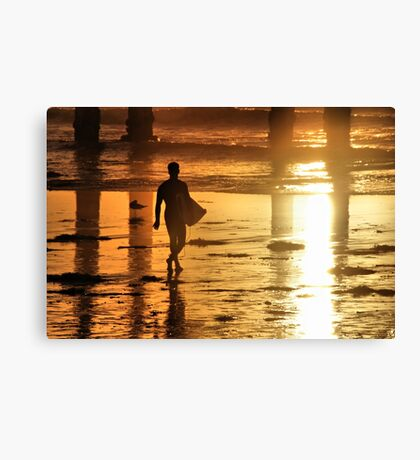 Memories of Gold Canvas Print
