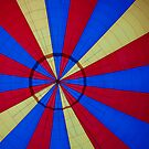 Looking up in the Hot Air Balloon by Russell Fry