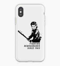 Steve Fighting (Stranger Things) iPhone Case