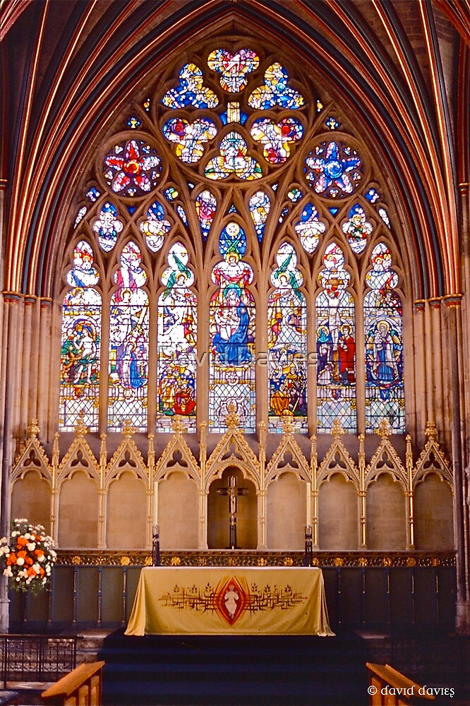 Exeter Cathedral II by David Davies