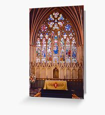 Exeter Cathedral II Greeting Card