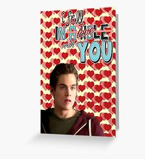Season 5 Teen Wolf Greeting Cards [Liam] Greeting Card