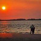Lover's Sunset by Teresa Young