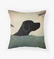 Labrador dog Throw Pillow