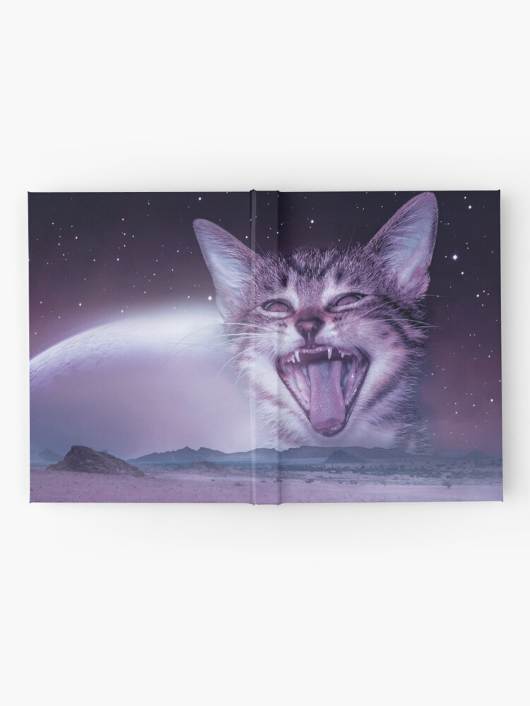 Alternate view of Planet Of The Cats Hardcover Journal