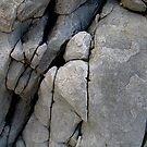 Rocks on Waratah beach, Victoria. by marijkasworld