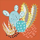 Terra-cotta Cactus by LIMEZINNIASDES
