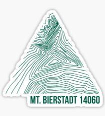 Mount Bierstadt Topo Sticker