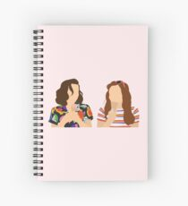 Eleven and Max Spiral Notebook