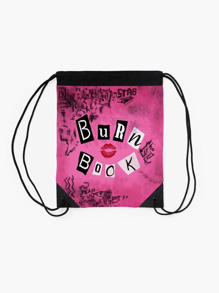 Alternate view of The Burn Book Drawstring Bag