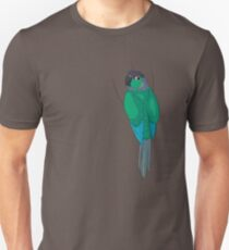Turquoise Green-Cheek Conure Unisex T-Shirt