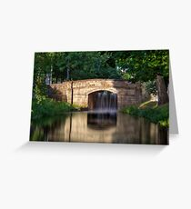 The Bridge - Grand Canal, Dublin, Ireland Greeting Card
