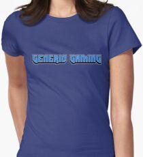 Generic Gaming Logo T-Shirt Women's Fitted T-Shirt