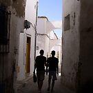Boys of Tunis medina by Lukasz Godlewski