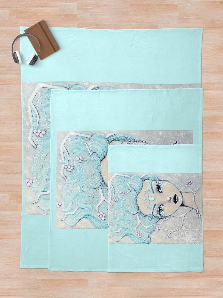 Alternate view of Ice Queen Throw Blanket
