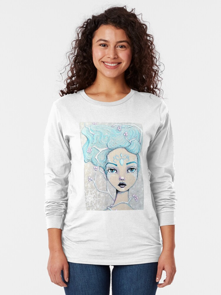 Alternate view of Ice Queen Long Sleeve T-Shirt