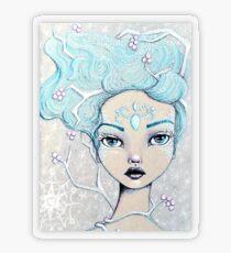 Ice Queen Transparent Sticker