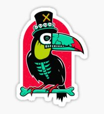 Toucan Voodoo Glossy Sticker