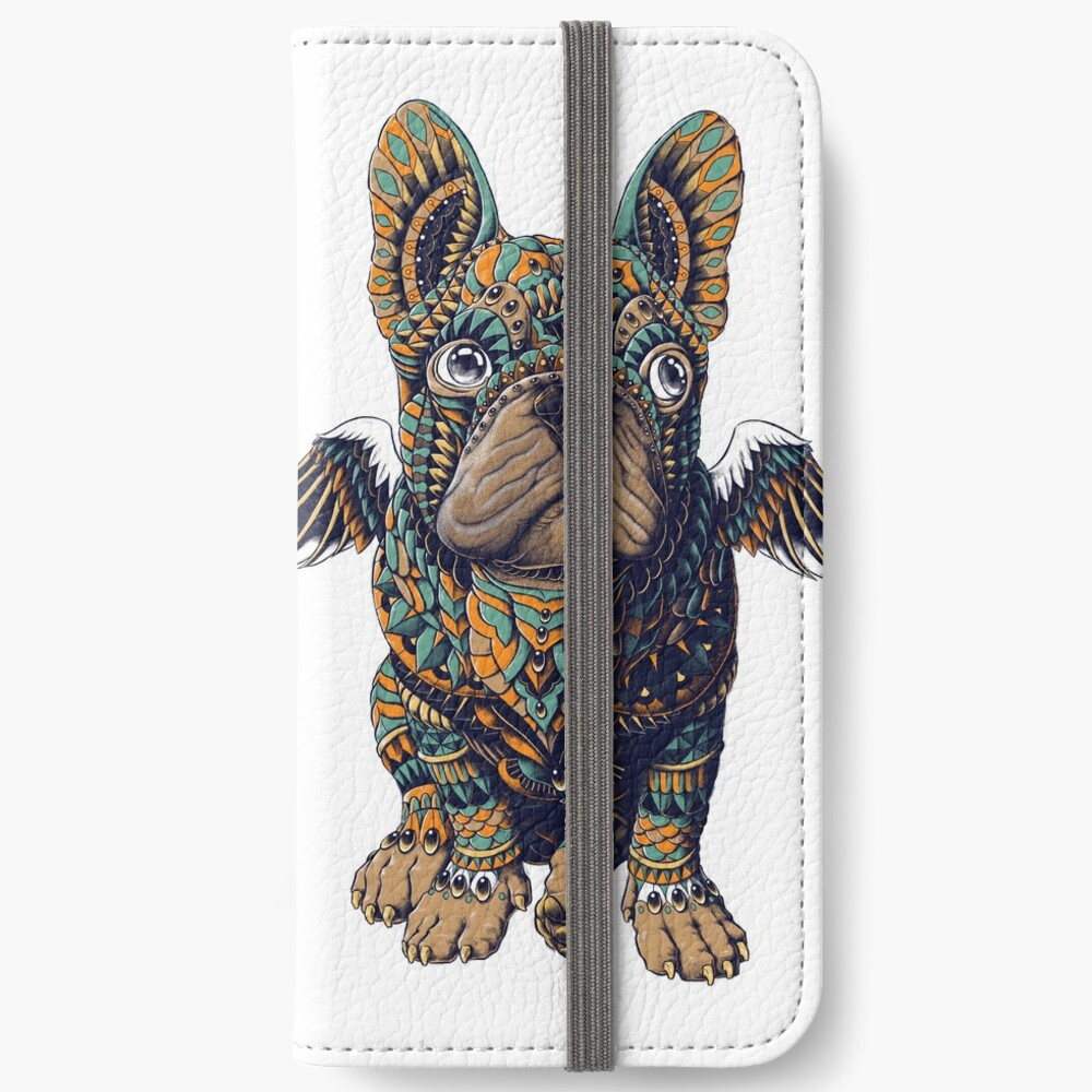 Frenchie iPhone Wallet