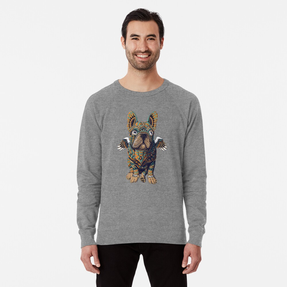 Frenchie Leichter Pullover