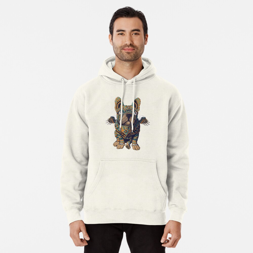 Frenchie Pullover Hoodie