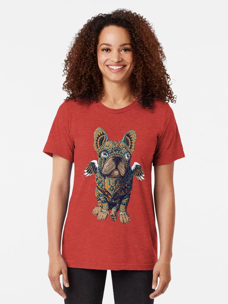 Alternative Ansicht von Frenchie Vintage T-Shirt