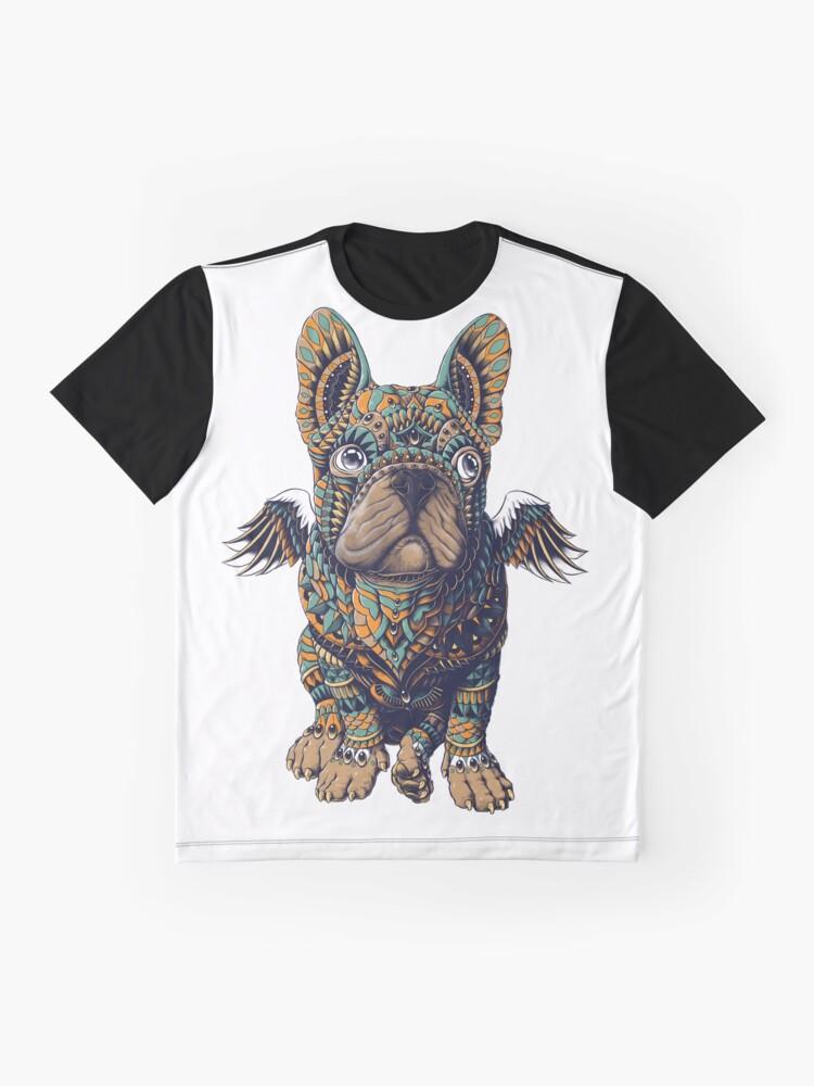 Alternative Ansicht von Frenchie Grafik T-Shirt