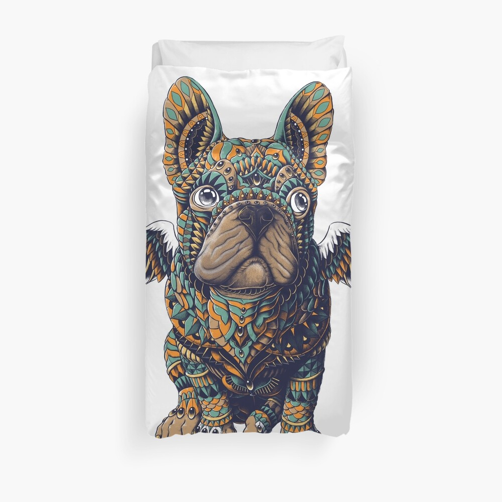 Frenchie Duvet Cover