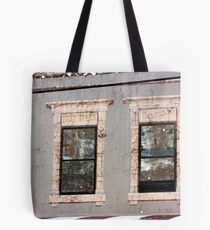 are our eyes painted on or the windows? Tote Bag