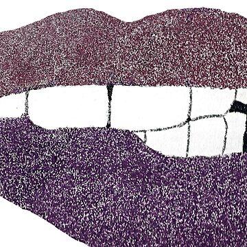 Glitter Lips  by LizzyONE20