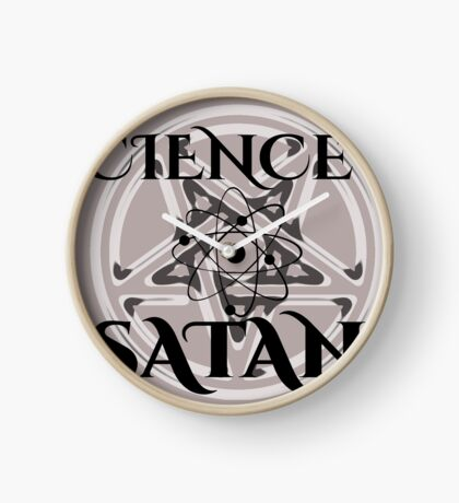 Science is Satan - Support Science Clock