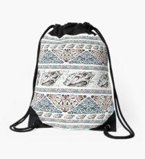 Vintage Seashell  Drawstring Bag