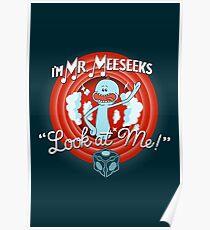 Merrie Mr. Meeseeks - shirt Poster