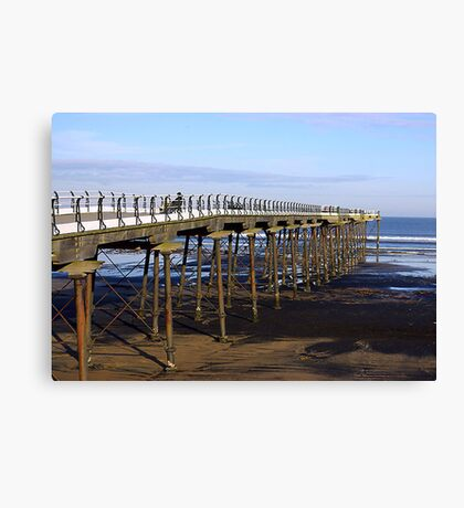 The Pier Saltburn Canvas Print