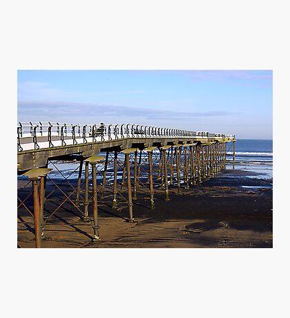 The Pier Saltburn Photographic Print