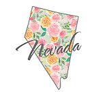 Nevada State | Floral Design with Roses von PraiseQuotes