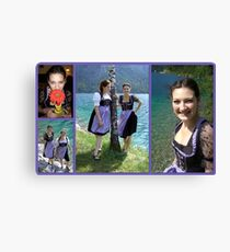 Bavarian Girls  Canvas Print