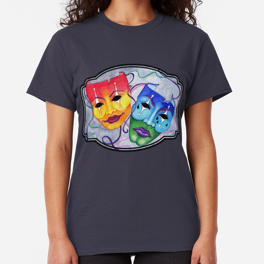 Comedy and Tragedy Classic T-Shirt