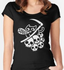 Cat Got Your Soul? II Women's Fitted Scoop T-Shirt